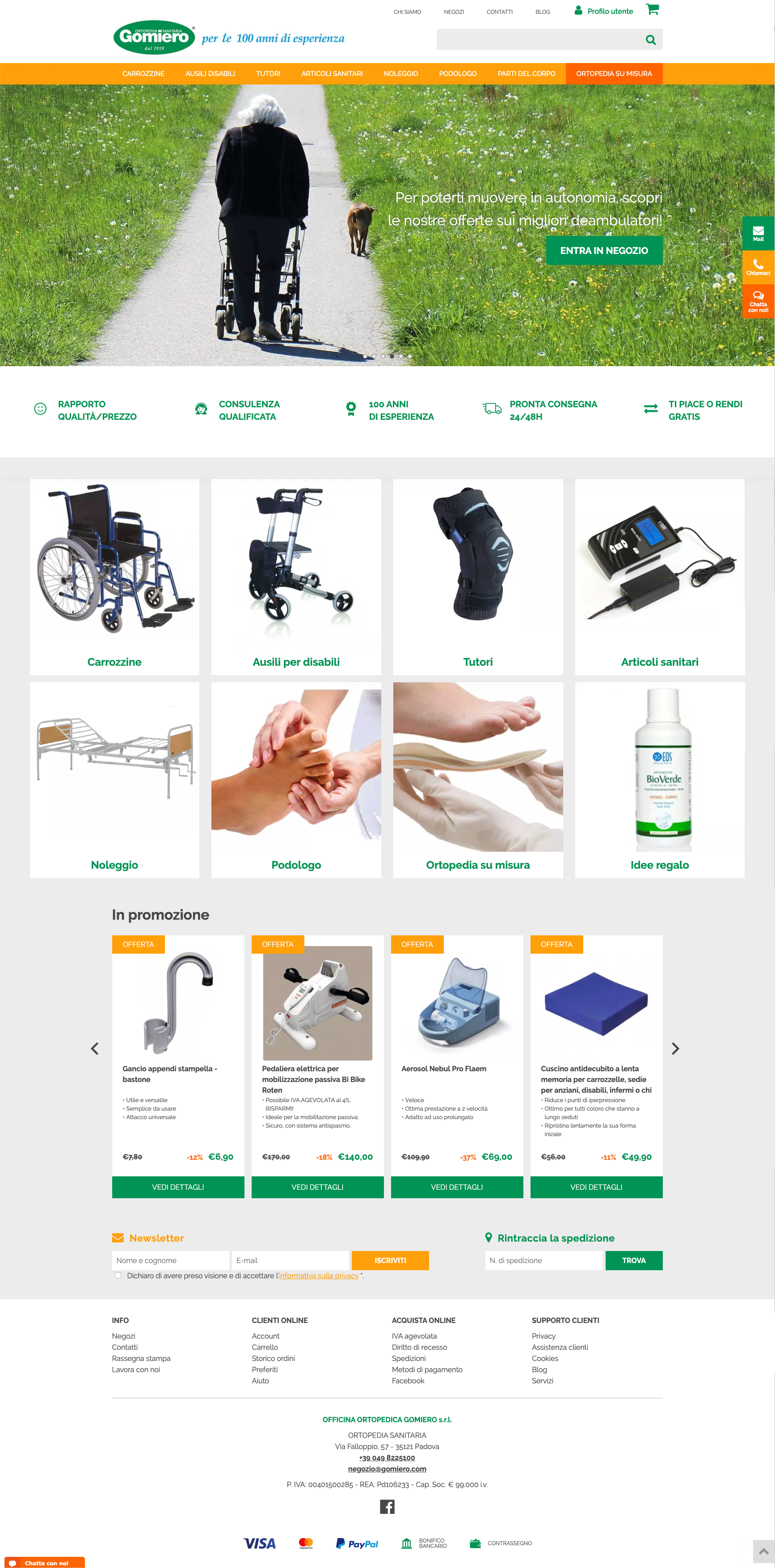 Ortopedia Gomiero
